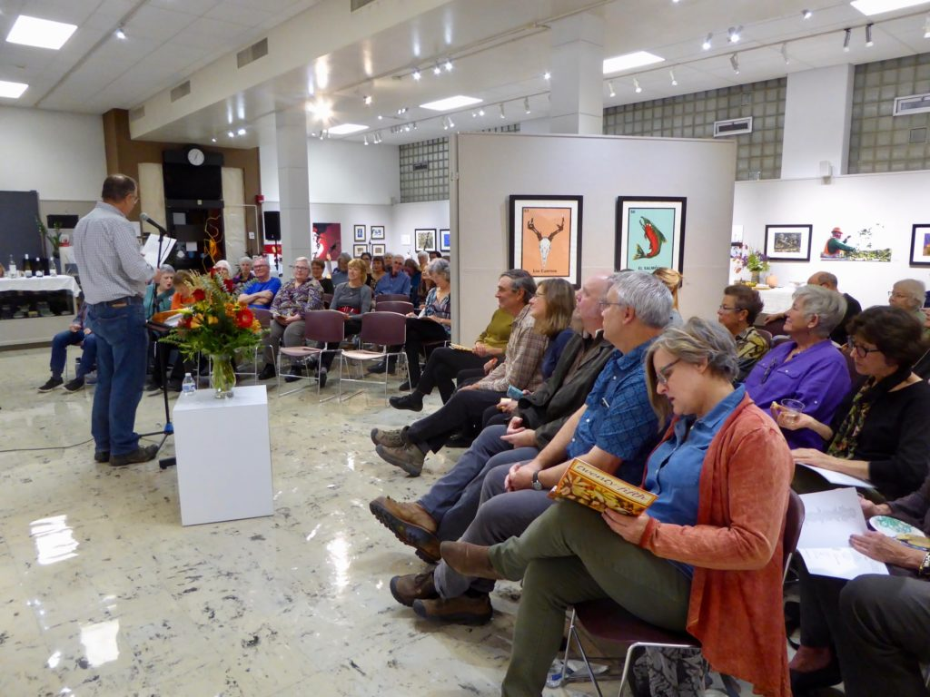 An excellent turnout for the 2019 Yakima Coffeehouse Poets Poetry Contest - October 22.