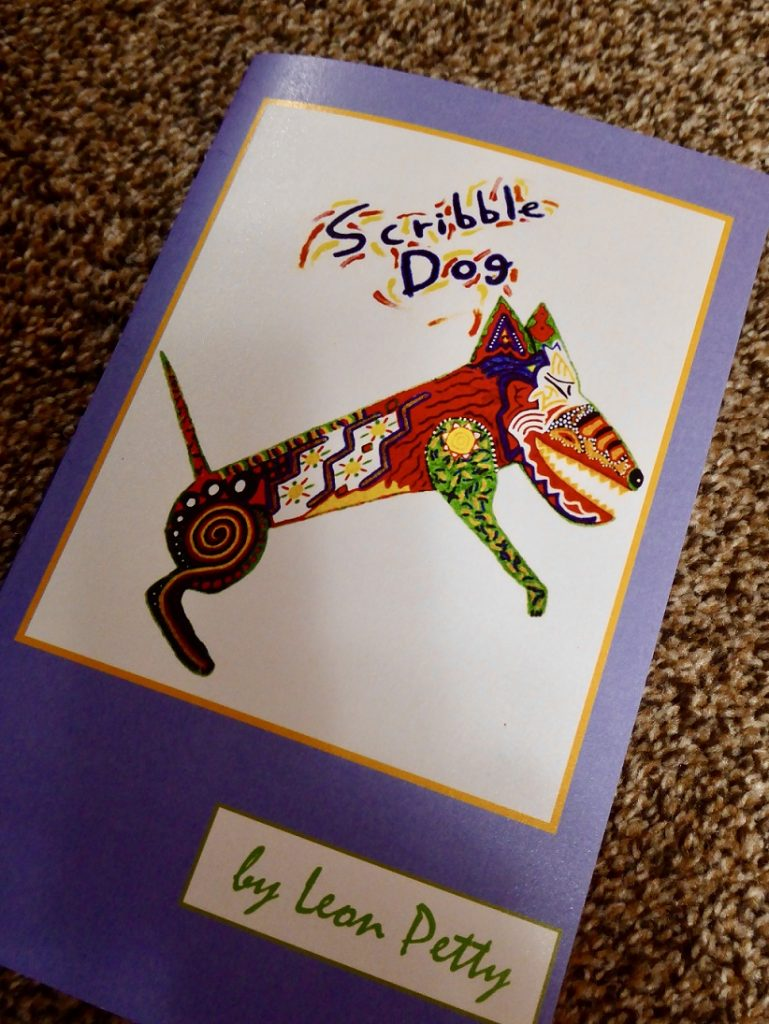 """Labyrinth Poetry Series, """"Scribble Dog,"""" by Leon Petty"""